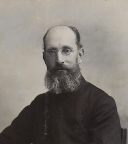 Mandell Creighton, by Unknown photographer - NPG P1700(35a)