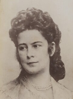 Elisabeth, Empress of Austria, by Unknown photographer - NPG P1700(36a)