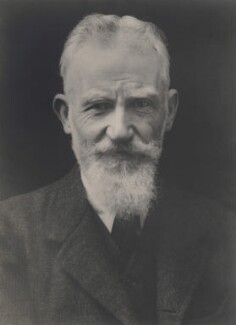 George Bernard Shaw, by Walter Stoneman - NPG x185231