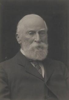 (Edward) Lyulph Stanley, 4th Baron Sheffield, by Walter Stoneman - NPG x185247