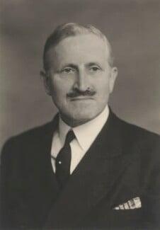 Sir (Edward Henry) Gerald Shepherd, by Walter Stoneman - NPG x185254