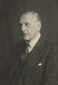 Lewis Silkin, 1st Baron Silkin, by Walter Stoneman - NPG x185284