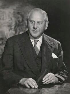 Lewis Silkin, 1st Baron Silkin, by Walter Bird - NPG x185285