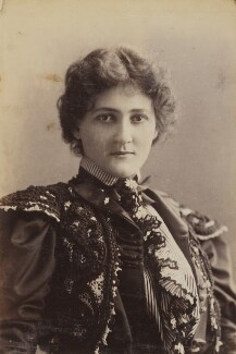 Maud Jeffries, by Unknown photographer, 1897 or before - NPG P1700(38a) - © National Portrait Gallery, London