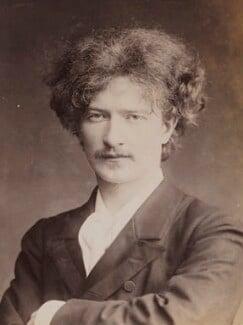 Ignace Jan Paderewski, by Oscar Remandas, for  London Stereoscopic & Photographic Company - NPG P1700(38d)