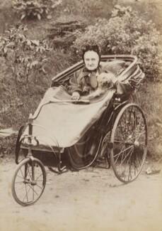 Elizabeth Wood (née Browning), by Unknown photographer - NPG P1700(39d)