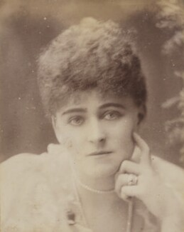 Frances Evelyn ('Daisy') Greville (née Maynard), Countess of Warwick, by Unknown photographer - NPG P1700(40b)