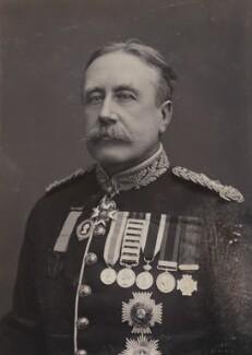 Sir William Stephen Alexander Lockhart, by Alexander Bassano - NPG P1700(41a)