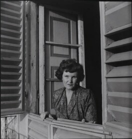 Joan Haslip, by Francis Goodman - NPG x195005