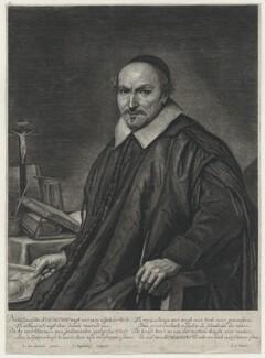 Augustyn Alsten Bloemaert, by Jonas Suyderhoef, after  Johannes Cornelius Verspronck, text written by  Joost van den Vondel - NPG D42704