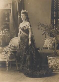 Queen Alexandra, by Alexander Bassano, 5 May 1881 - NPG x137236 - © National Portrait Gallery, London