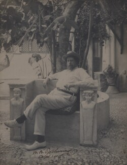 Sir William Blake Richmond, by Unknown photographer - NPG x137238