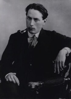 Compton Mackenzie, by Bassano Ltd, for  Camera Press: London: UK - NPG x137240