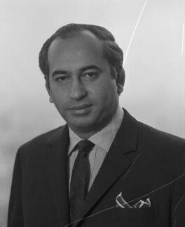 Zulfikar Ali Bhutto, by Rex Coleman, for  Baron Studios - NPG x191738