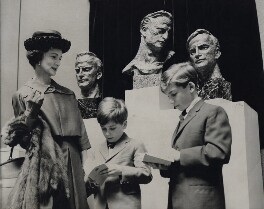 Diana Menuhin (née Gould); Jeremy Menuhin; Gerard Menuhin, by Central Press - NPG x184026