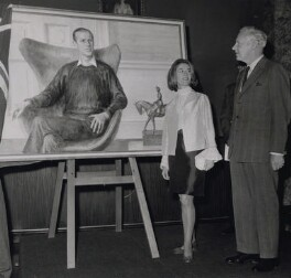 June Mendoza; Sir Alexander Russell Downer, by Keystone Press Agency Ltd - NPG x184028