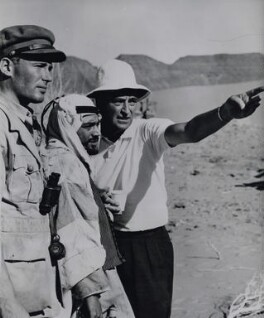 David Lean, Peter O'Toole and Zia Mohyeddin on the set of 'Lawrence of Arabia', by Associated Press - NPG x184047