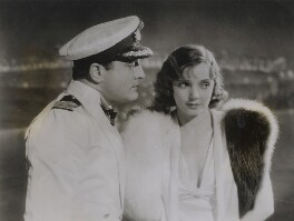 Basil Sydney and Jessie Matthews in a scene from 'The Midshipmaid', by Unknown photographer - NPG x184051