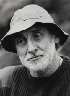 Spike Milligan, by Homer Sykes, for  Camera Press: London: UK - NPG x184080