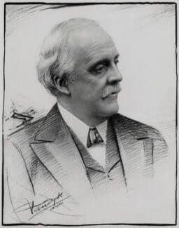 Arthur James Balfour, 1st Earl of Balfour, by Vandyk - NPG x184105