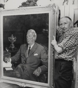 Terence Cuneo, by Press Association Photos - NPG x184131