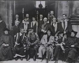 Douglas Haig, 1st Earl Haig; Rudyard Kipling; George Galloway; Sir John Bland-Sutton,1st Bt, by Graphic Photo Union, 1923 - NPG x184141 - © National Portrait Gallery, London