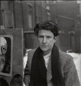 Lucian Freud, by Francis Goodman, circa 1945 - NPG x195020 - © National Portrait Gallery, London