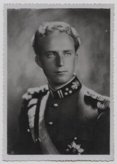 Leopold III, King of the Belgians, by Robert Marchand - NPG x137253