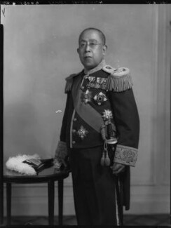 Prince Iesato Tokugawa, by Lafayette - NPG x70558