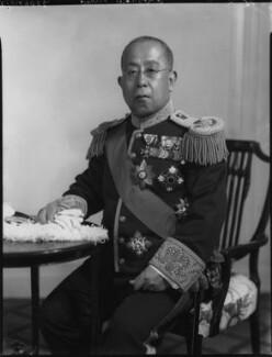 Prince Iesato Tokugawa, by Lafayette - NPG x70555