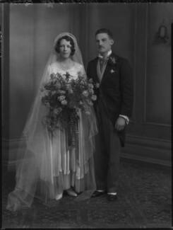 Kathleen Elizabeth Grobel (née Donaghy); Cyril Peter Grobel, by Lafayette - NPG x137265