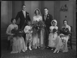 Bernard Hackforth; Kathleen Elizabeth Grobel (née Donaghy); Cyril Peter Grobel; Nan Donaghy; Eugenie Grobel, by Lafayette - NPG x137267