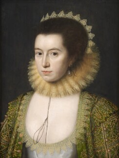 Anne, Countess of Pembroke (Lady Anne Clifford), by William Larkin, circa 1618 - NPG  - © National Portrait Gallery, London