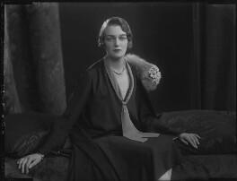 Princess Ella Kourakine, by Lafayette (Lafayette Ltd), 26 April 1926 - NPG x184475 - © National Portrait Gallery, London