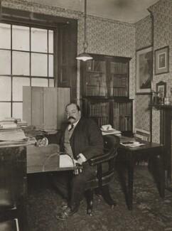 Bernard Alfred Quaritch, by Frederic G. Hodsoll - NPG Ax29634
