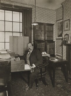 Bernard Alfred Quaritch, by Frederic G. Hodsoll, 1901 - NPG Ax29634 - © National Portrait Gallery, London