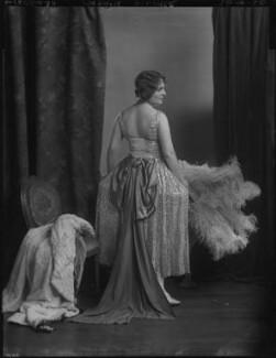 Madame Aylmer, by Lafayette (Lafayette Ltd), 26 April 1926 - NPG x184488 - © National Portrait Gallery, London