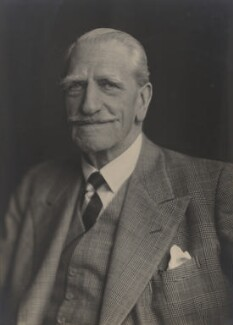 Sir (Charles) Aubrey Smith, by Walter Stoneman - NPG x185335