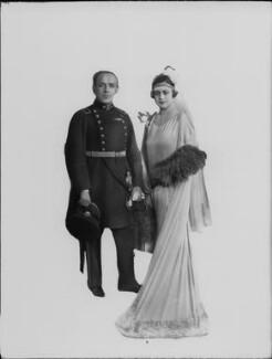 Diego (Alberto) Aracena (Aguilar); Maria de Aracena, by Lafayette (Lafayette Ltd), 9 June 1926 - NPG x184504 - © National Portrait Gallery, London