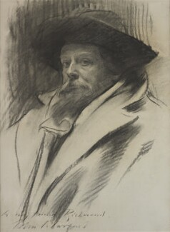 Sir William Blake Richmond, by John Singer Sargent - NPG 6980