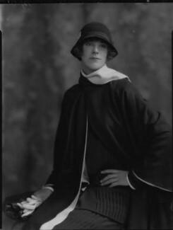Phyllis Helen Satterthwaite (née Carr), by Lafayette - NPG x184513