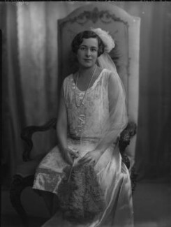 Winifred Leticia Fearnley-Whittingstall (née Chattock), by Lafayette (Lafayette Ltd), 25 June 1926 - NPG x184517 - © National Portrait Gallery, London