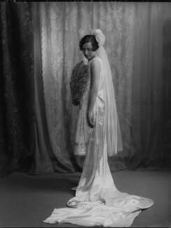Winifred Leticia Fearnley-Whittingstall (née Chattock), by Lafayette (Lafayette Ltd), 25 June 1926 - NPG x184519 - © National Portrait Gallery, London