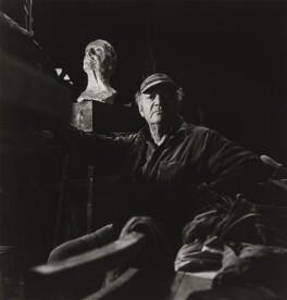 Jacob Epstein, by Michael Peto - NPG x137297