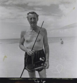 Ian Fleming, by Francis Goodman, 1964 - NPG x195031 - © National Portrait Gallery, London