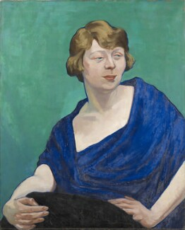 Dame Edith Evans (Dame Edith Mary Booth), by Henry Glintenkamp - NPG 6977
