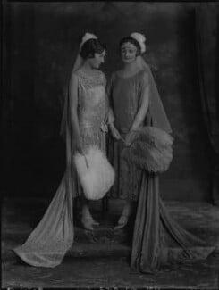 Margaret Evelyn Cardiff (née Pope); Dorothy Alice Pope (née Warre), by Lafayette - NPG x184536