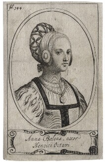 Unknown woman called Anne Boleyn, after Unknown artist - NPG D42717