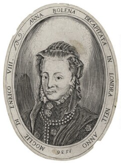 Unknown woman called Anne Boleyn, after Unknown artist, late 16th-early 17th century - NPG D42718 - © National Portrait Gallery, London