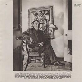 Fernand Léger, by Francis Goodman - NPG x195048
